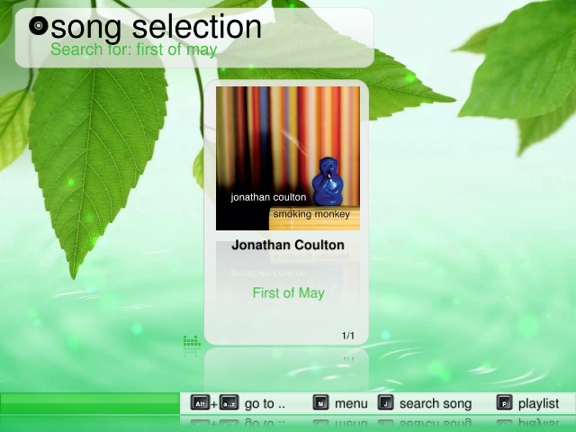 Theme Verdure: Song Selection