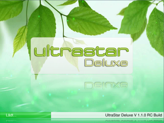 Ultrastar Deluxe Loading Screen